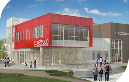 Artist rendering of Edgewood Recreation Center Renovation